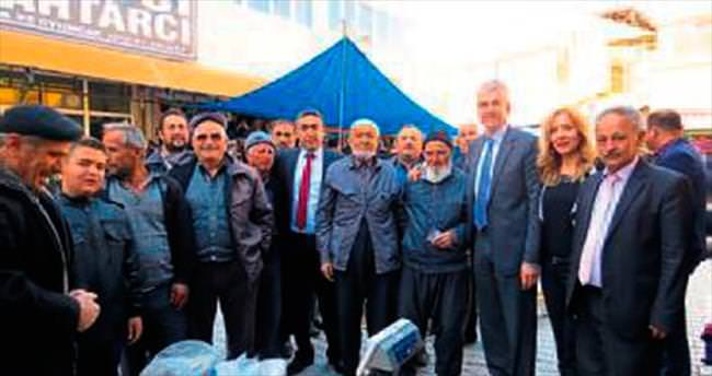 MHP adaylarından Korkuteli ziyareti