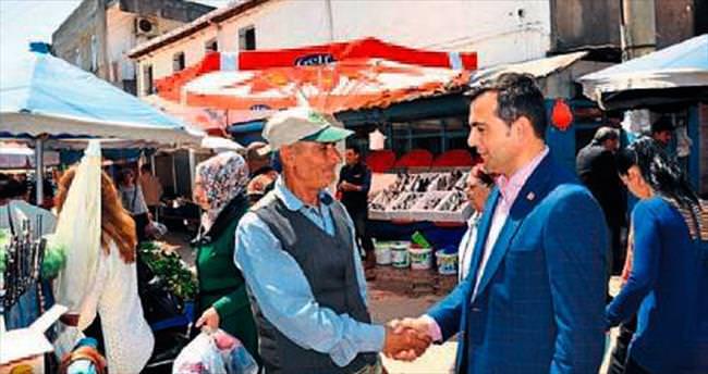 CHP'li Kara'dan pazaryeri turları