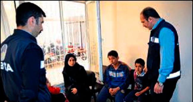 Suriyeli dilencilere belediye müdahalesi