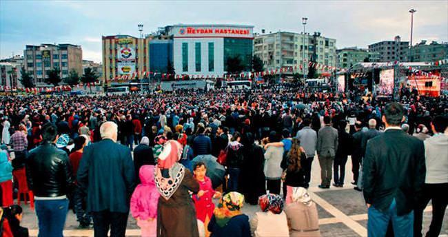 Nihat Hatipoğlu'na Urfa'da sevgi seli