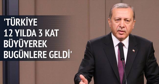 Erdoğan'ın çocuklar gibi şen günü