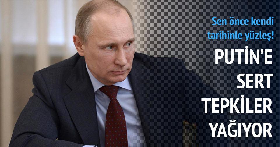 Çerkeslerden Putin'e sert tepki