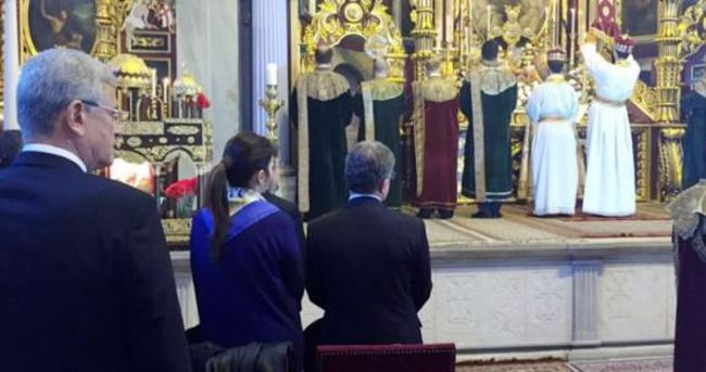 Ermeni kilisesinde bir ilk!