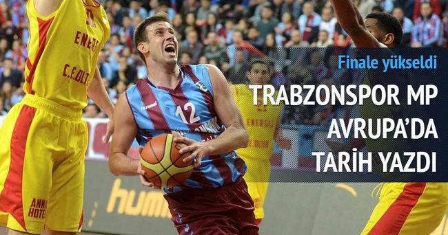 Trabzonspor MP EuroChallenge'da finale çıktı