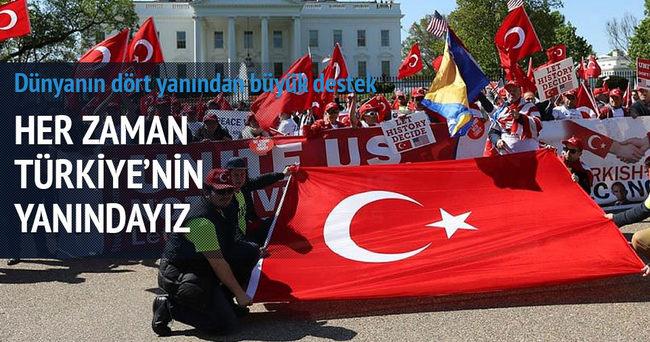 Türkiye'ye büyük destek!