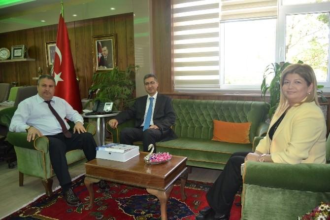 Basın Yayın Ve Enformasyon İzmir İl Müdürü Dev'den Başkan Çerçi'ye Ziyaret