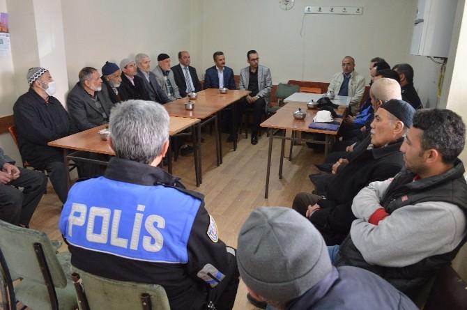 Erzincan Emniyeti Yavuz Selim Mahallesiyle Huzur Toplantısında...
