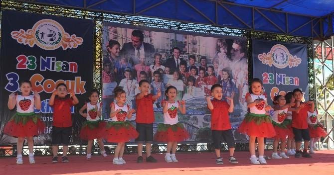 Çocuk Festivali'nde Eğlence Tam Gaz