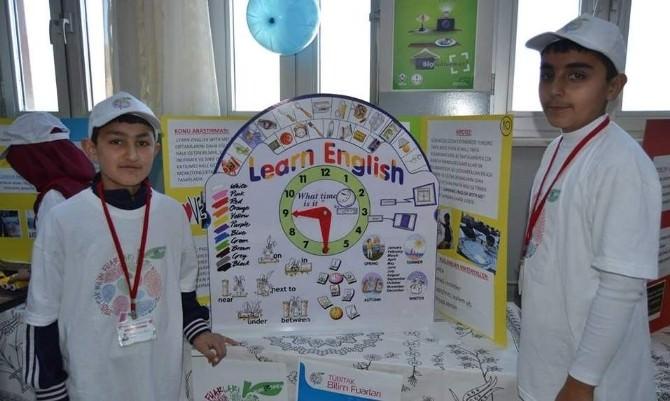 Kadışehri İmam-hatip Ortaokulu TUBİTAK Bilim Fuarı Açıldı