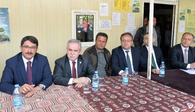 Şehzadeler Belediyesi Çiftçileri Yalnız Bırakmadı