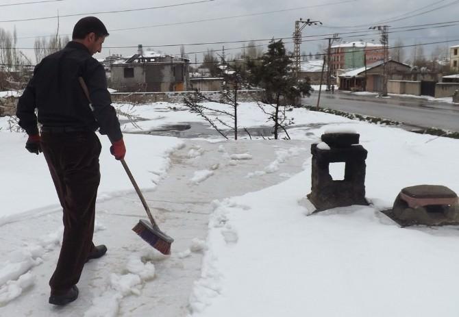 Van'daki Kar Yağışı