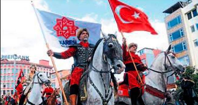 Karesi'de Altın Ok Festivali sürüyor