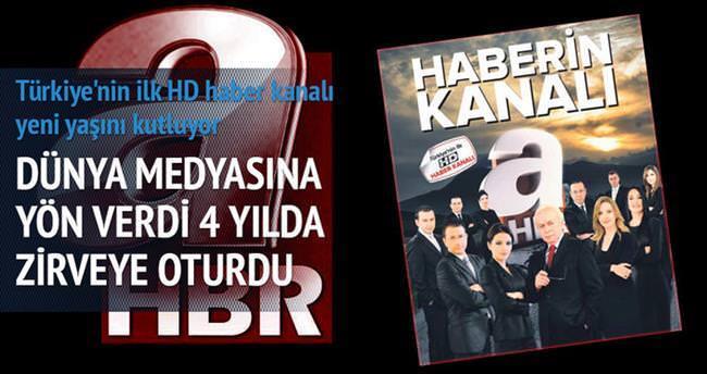 Türkiye'nin haber kanalı 4 yaşında
