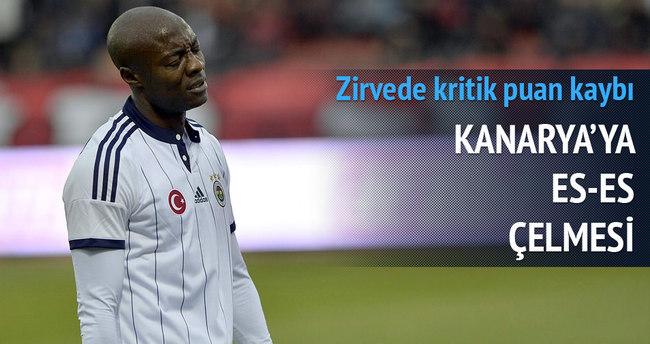 Eskişehir Fenerbahçe maçı özeti ve golleri — Geniş özet (Lidere ES ES çelmesi)