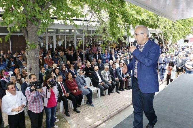 AK Parti'li Lütfi Elvan'ın Antalya Mitingi