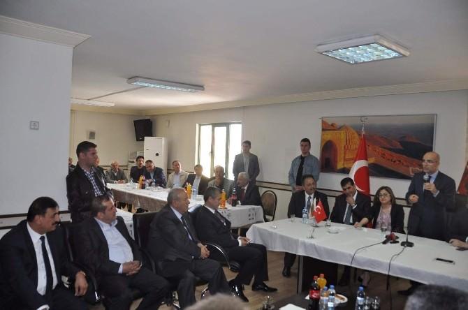 Maliye Bakanı Şimşek Marev'i Ziyaret Etti