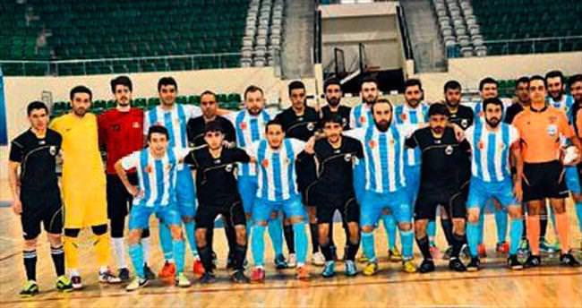 Futsal ligi finalleri çekişmeli geçti