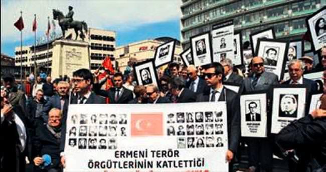 Eski diplomatlar soykırım yalanını protesto etti