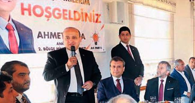 'AK Parti bütünlüğümüzün sigortası'