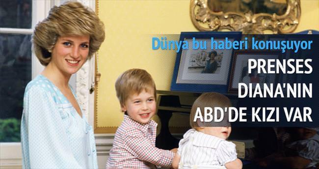Prenses Diana'nın ABD'de kızı var
