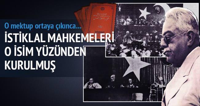 İstanbul İstiklal Mahkemesi'nin kurulmasına Ağa Han neden olmuş