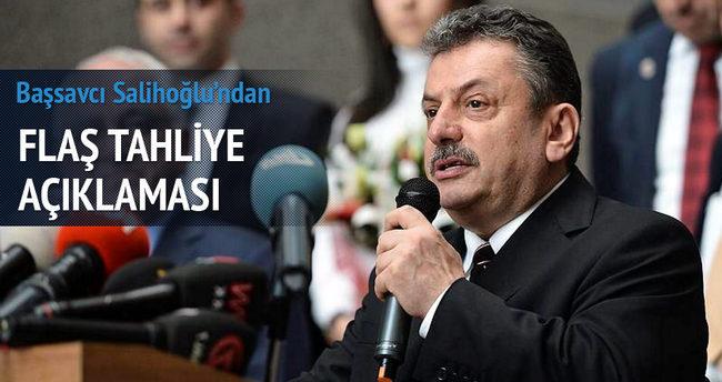 Başsavcı Salihoğlu'ndan açıklama
