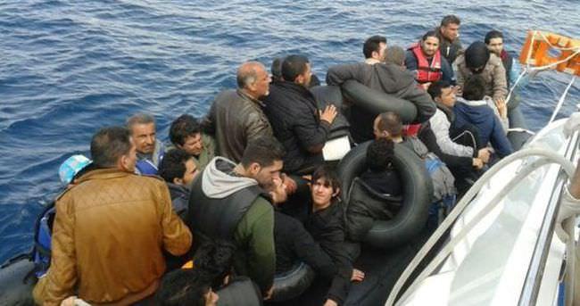 Çanakkale açıklarında 219 kaçak yakalandı