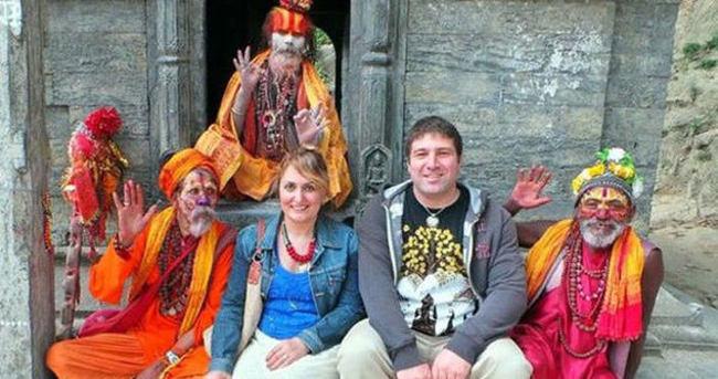 Nepal'deki kayıp çiftten iyi haber