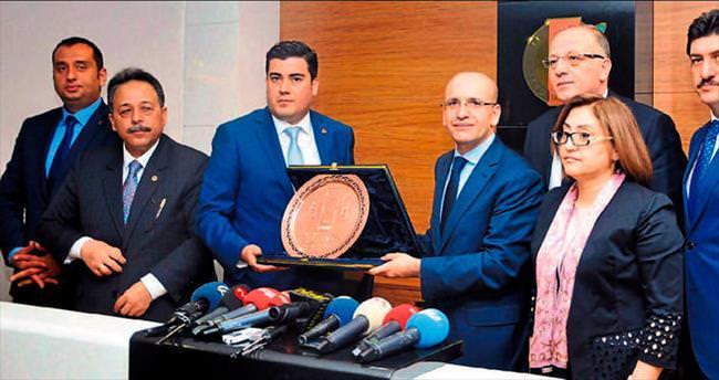 Şimşek: Gaziantep Türkiye'nin gururu
