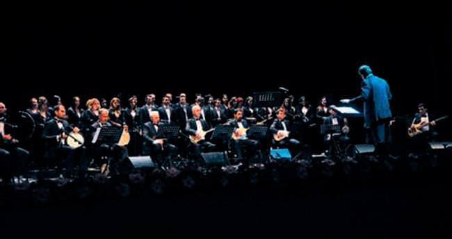 Halk müzikleriyle muhteşem konser
