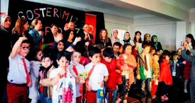 Kardeş okullardan ortak tiyatro oyunu