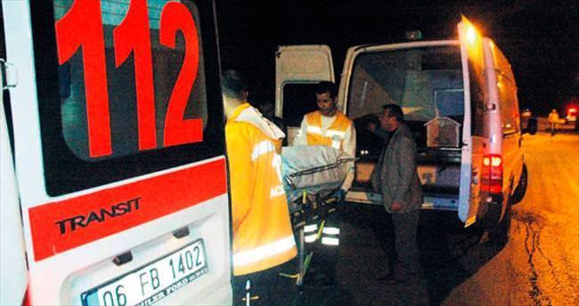 Mamak'taki kazada can pazarı yaşandı