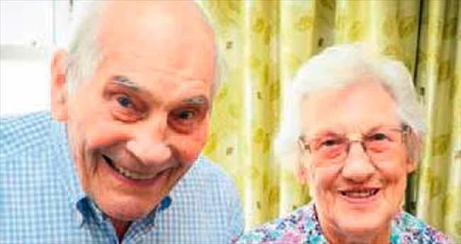 Dünyanın en yaşlı çifti oldular