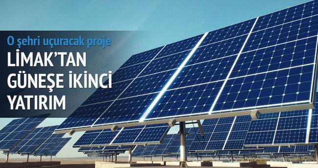 Limak'tan güneşe ikinci yatırım