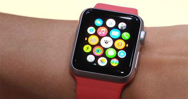 Apple Watch'un ekranı kolay çiziliyor