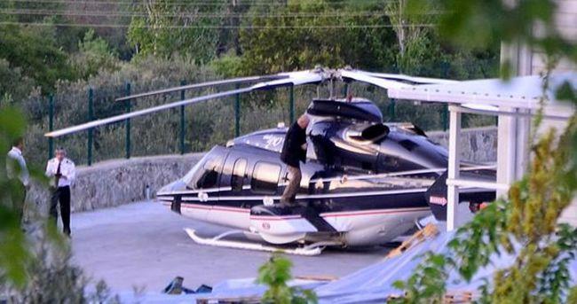 İşadamı Zorlu'nun helikopteri zorunlu iniş yaptı