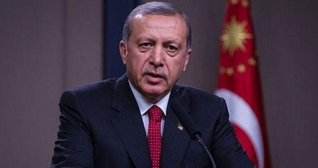 Erdoğan'dan KKTC Cumhurbaşkanı'na tebrik mesajı