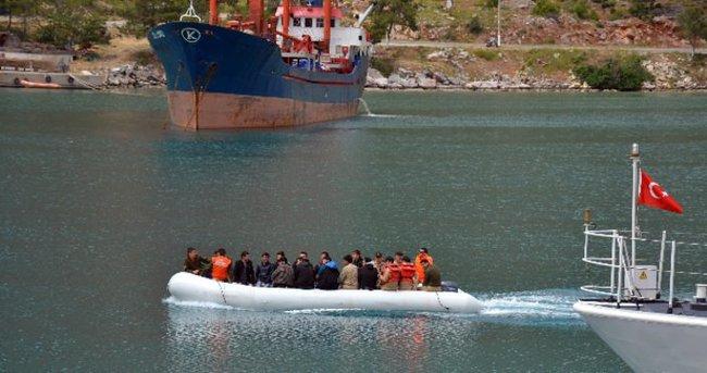 446 kaçak göçmen yakalandı