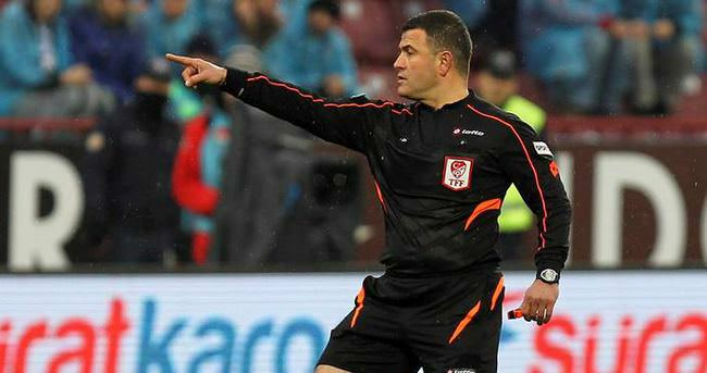 İşte Galatasaray - Sivasspor maçının hakemi
