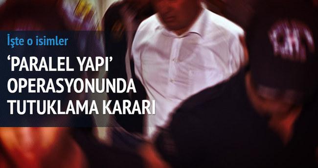 Paralel yapı operasyonunda 12 tutuklama kararı