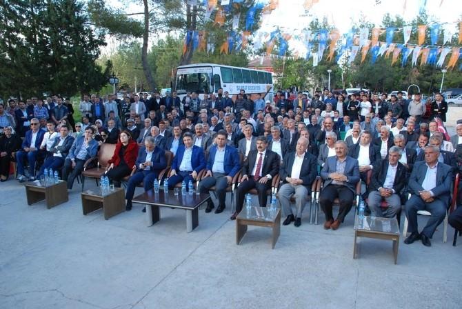 AK Parti Samsat İlçe Seçim Karargahının Açılışı Yapıldı