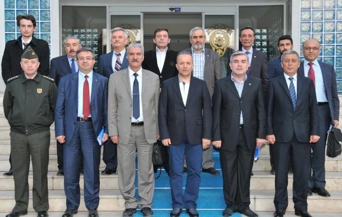 Afyonkarahisar'da Vali Güner Başkanlığında Seçim Toplantısı