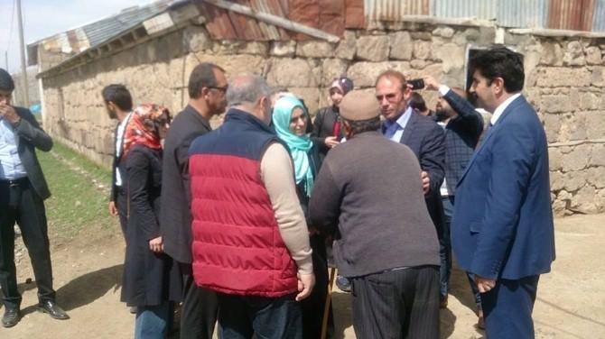 AK Parti Milletvekili Adayı Zehra Taşkesenlioğlu, Hınıs'ta Büyük İlgi Gördü…