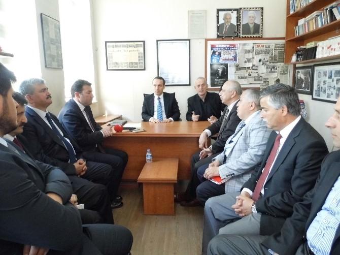 AK Parti Milletvekili Adayları Kgd'yi Ziyaret Etti