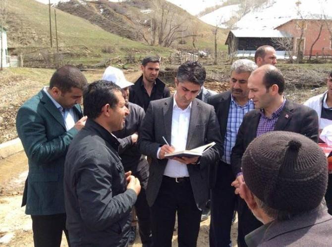 Milletvekili Adayı Zafer Tarıkdaroğlu, İspir'de Seçim Çalışması Yaptı