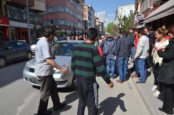 Eskişehir'de İlginç Bir Kaza