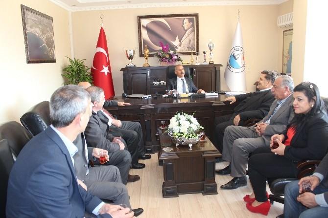 Arsuz Belediye Başkanı Nazım Culha'ya Ziyaret