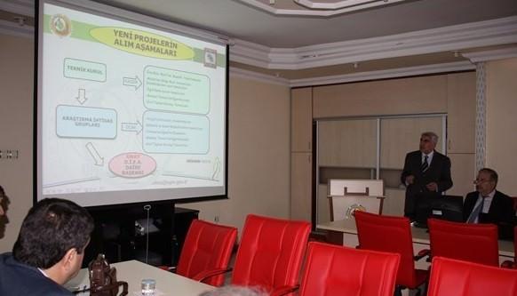 Elazığ'da Ormancılık Araştırma Enstitüsü Müdürlüğü İstişare Toplantısı Yapıldı