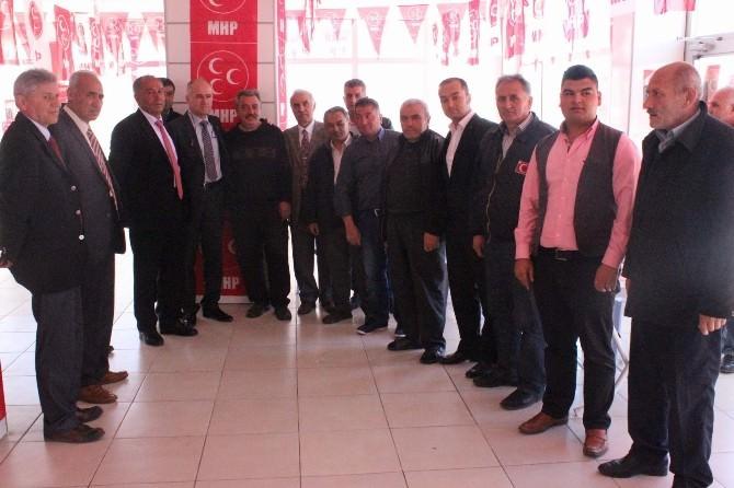 Milliyetçi Hareket Partisi, Özbağ Kasabasında Seçim Bürosu Açtı