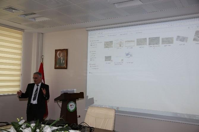 Iğdır'da 'Jeotermal Ve Yeraltı Kaynakları' Konulu Toplantı